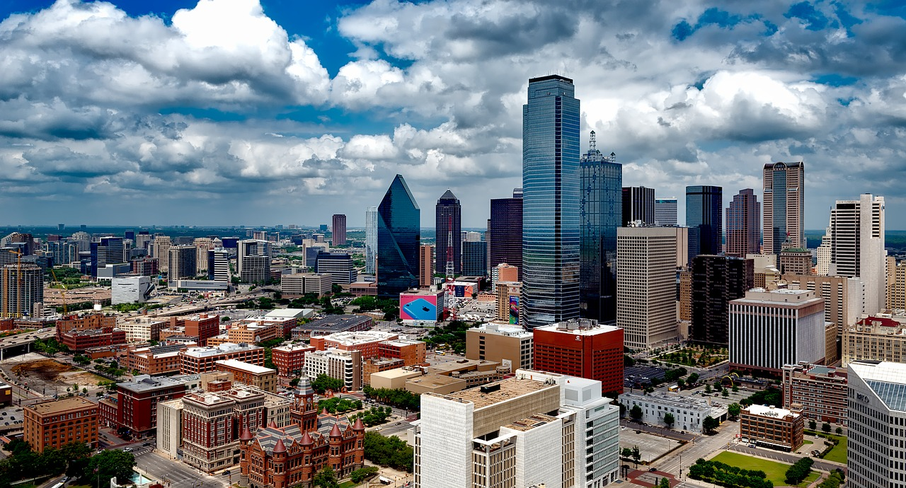 Dallas skyline during the day.