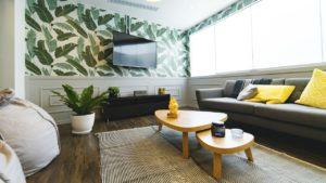 Stylish home interior.