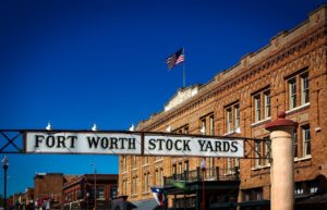 Fort Worth Stock yards.