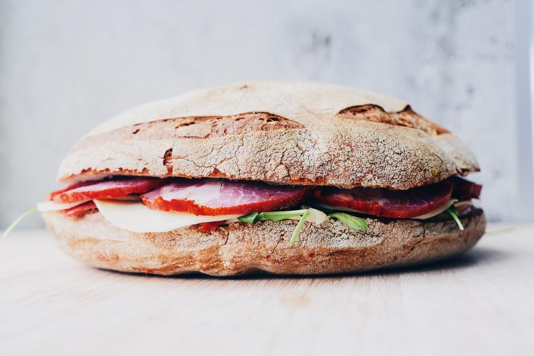 A deli sandwich.