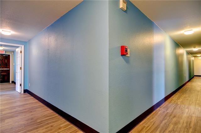 A hallway at 8200 Tumbleweed Trail.