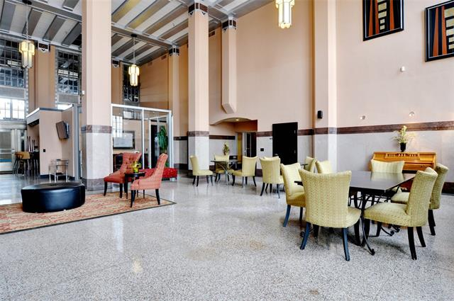 Texas & Pacific Loft lobby